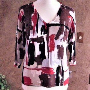 CDP & CO.  TOP  SIZE 1X   NWT